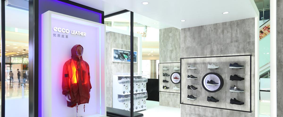 2019年6月9日,源自北欧丹麦的著名鞋履品牌ECCO来到北京APM购物中心,举办2019革新适界春夏品牌路展,ECCO品牌风格大使辛芷蕾..
